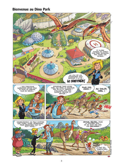 Page 4 Dino park tome 1