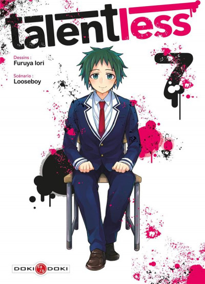 Couverture Talentless tome 7