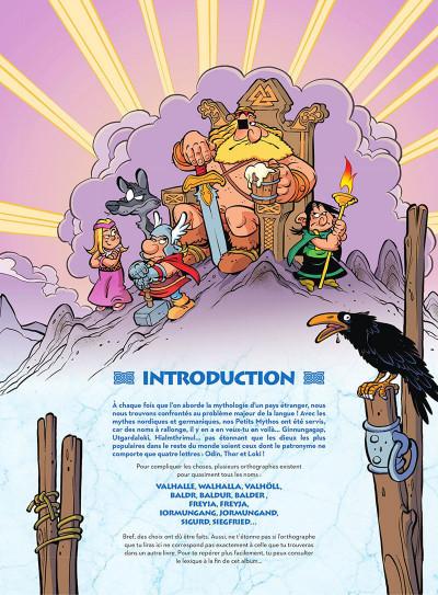 Page 4 Les petits mythos présentent : la mythologie nordique