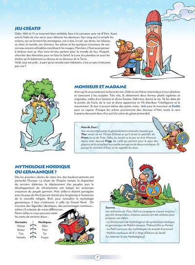 Page 8 Les petits mythos présentent : la mythologie nordique