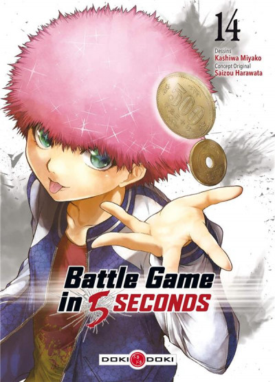 Couverture Battle game in 5 seconds tome 14
