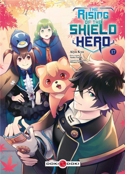 Couverture The rising of the shield hero tome 17