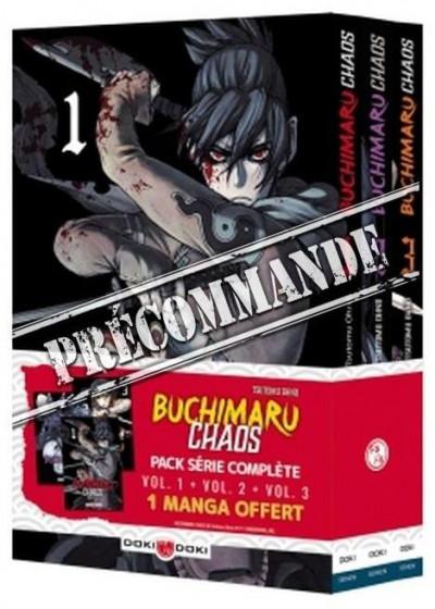 Couverture Buchimaru chaos - pack série