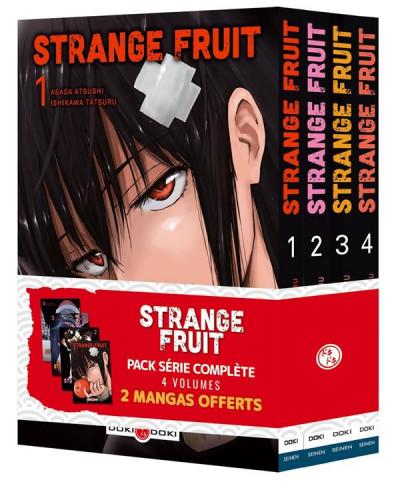 Couverture Strange fruit - pack tomes 1 à 4