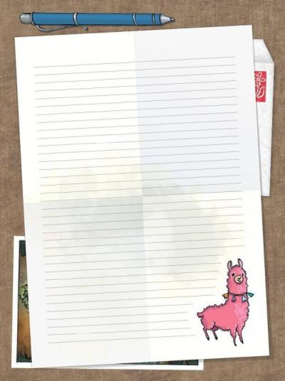 Couverture Les amies de papier tome 2 + set papeterie