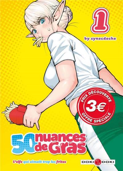 Couverture 50 nuances de gras tome 1 (prix découverte)