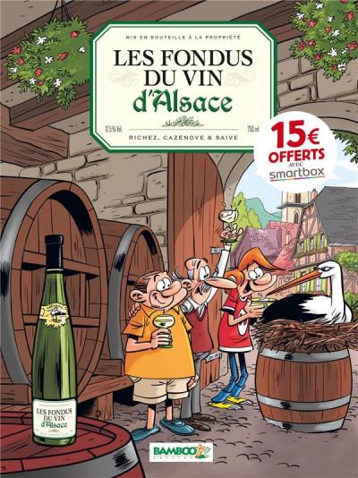 Couverture Les fondus du vin : Alsace (op 2021)