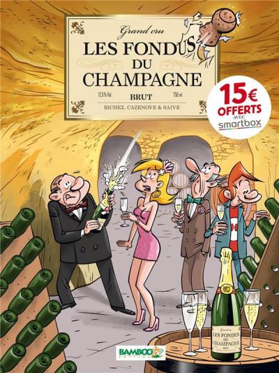 Couverture Les fondus du vin : Champagne (op 2021)