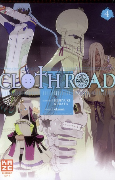 Couverture cloth road tome 4