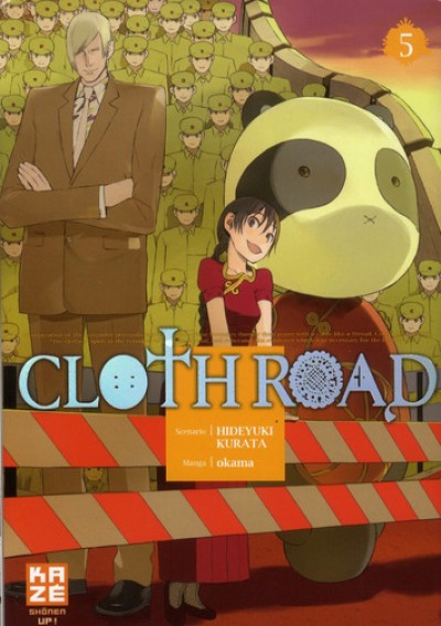 Couverture cloth road tome 5