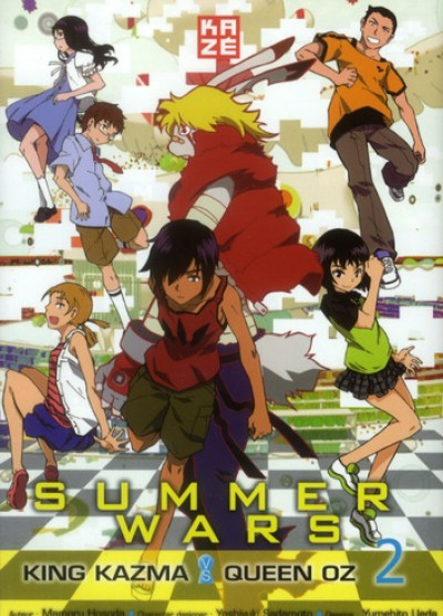 Couverture summer wars - oz championship tome 2