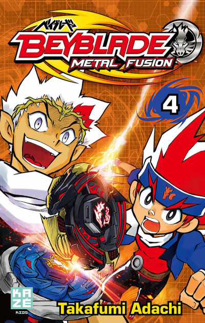 Couverture beyblade metal fusion tome 4