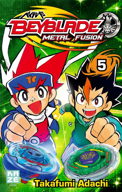 Couverture beyblade metal fusion tome 5
