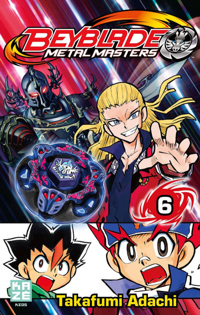 Couverture beyblade metal masters tome 6