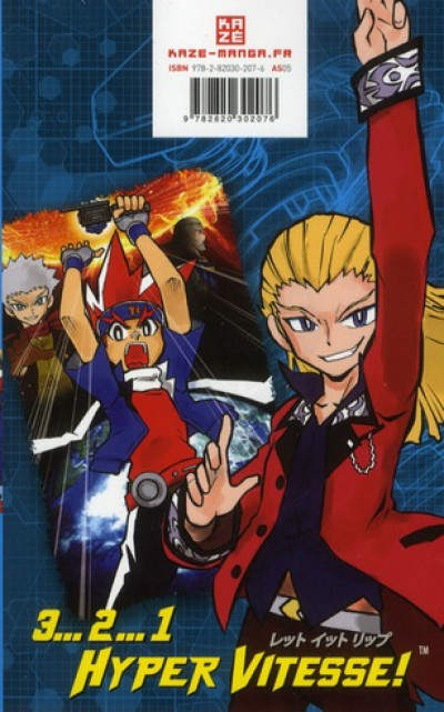 Dos beyblade metal masters tome 6