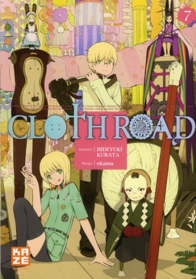 Couverture cloth road tome 7