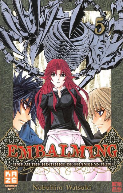 Couverture embalming tome 5