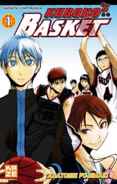 Couverture kuroko's basket tome 1