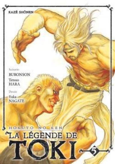 Couverture hokuto no ken: la legende de toki tome 5