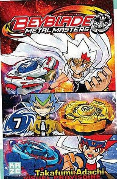 Couverture beyblade metal masters tome 7