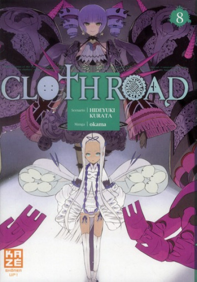 Couverture cloth road tome 8