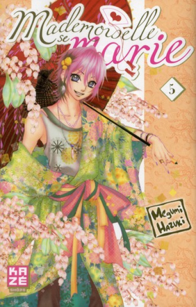 Couverture mademoiselle se marie tome 5