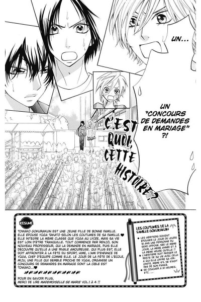 Page 5 mademoiselle se marie tome 5