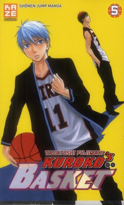 Couverture kuroko's basket tome 5