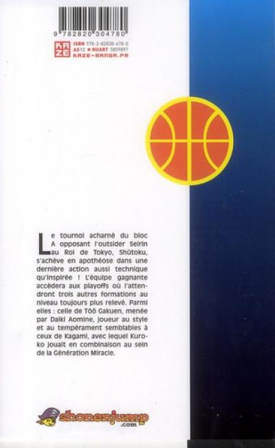 Dos kuroko's basket tome 5