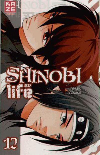 Couverture shinobi life tome 12