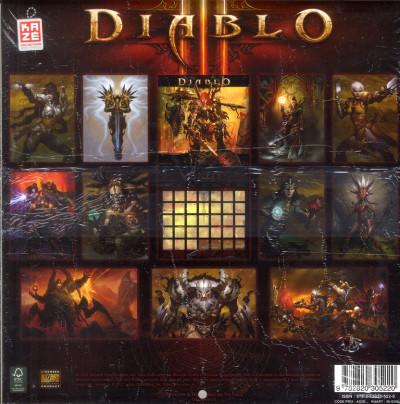 Dos calendrier diablo III 2013