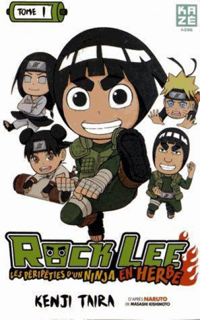 Couverture rock lee tome 1