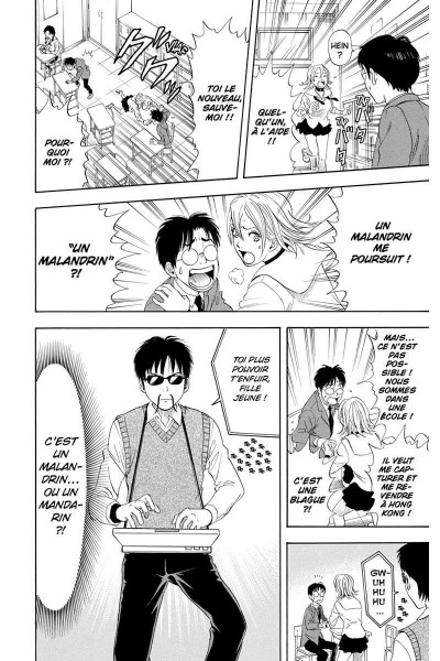 Page 9 sket dance tome 1