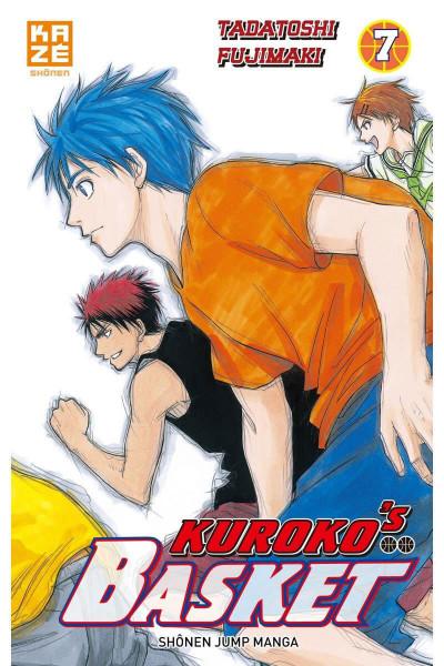 Couverture kuroko's basket tome 7