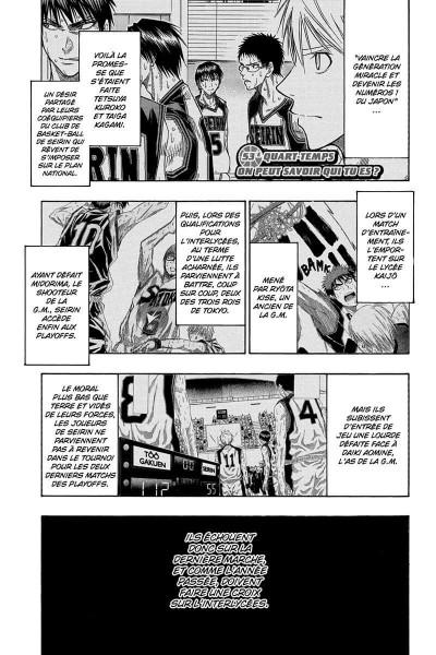 Page 6 kuroko's basket tome 7