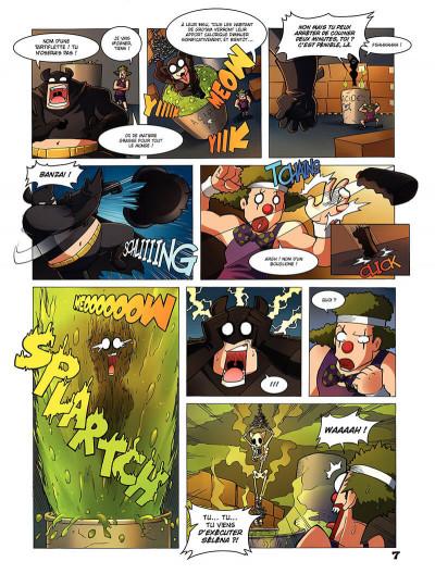 Page 8 Flander's company T.2 - le mal, c'est classe !