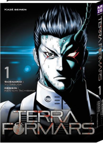 Couverture Terra formars tome 1