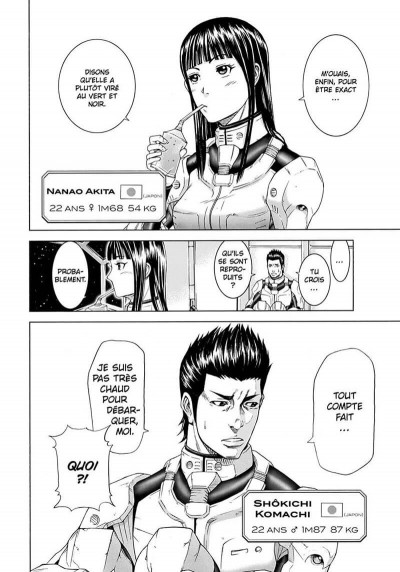 Page 6 Terra formars tome 1