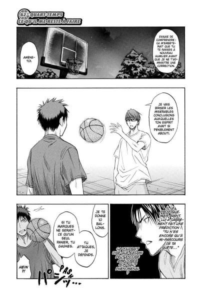Page 6 Kuroko's basket tome 8