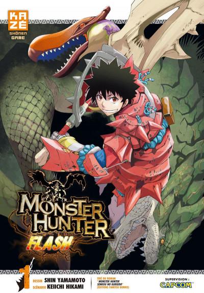 Couverture monster hunter flash tome 1