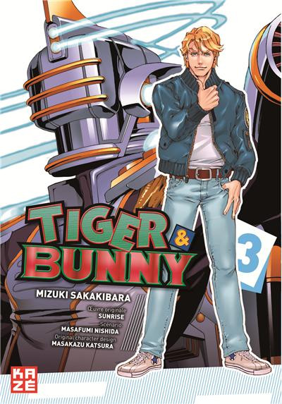 Couverture tiger & bunny tome 3