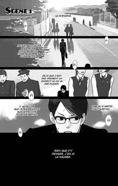 Page 3 Kids on the slope tome 1