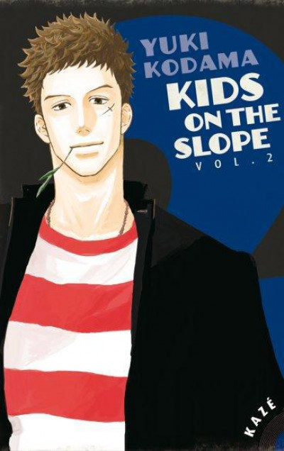 Couverture kids on the slope tome 2