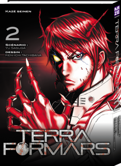 Couverture Terra formars tome 2