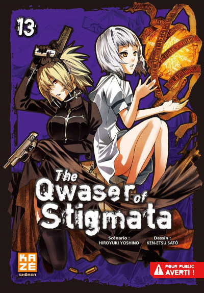 Couverture the qwaser of stigmata tome 13