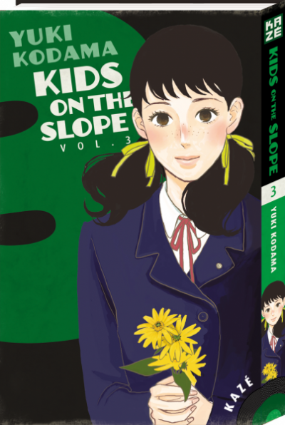 Couverture kids on the slope tome 3