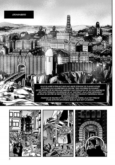 Page 4 vampire hunter D tome 7