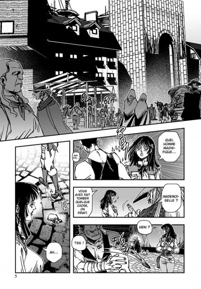 Page 6 vampire hunter D tome 7
