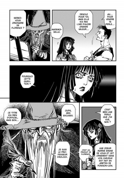 Page 8 vampire hunter D tome 7