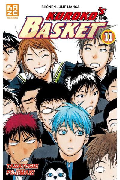 Couverture Kuroko's basket tome 11